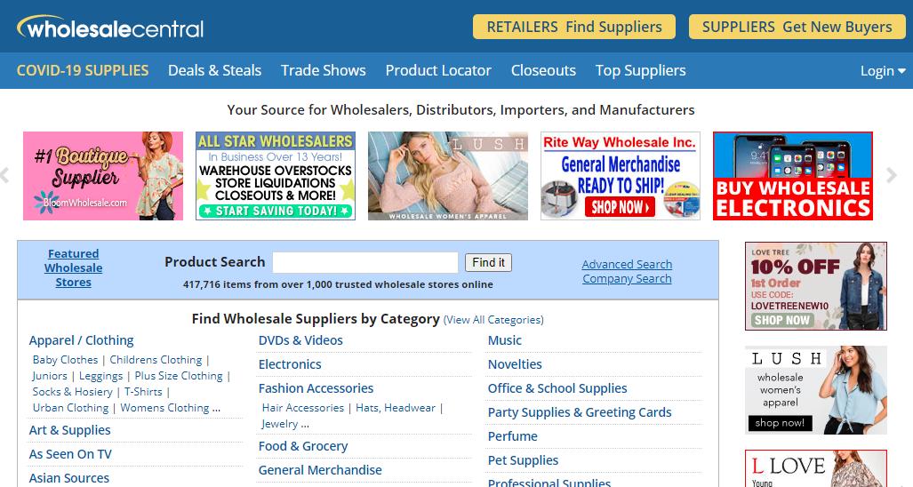 Wholesale Central