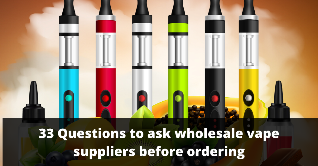 wholesale vape suppliers