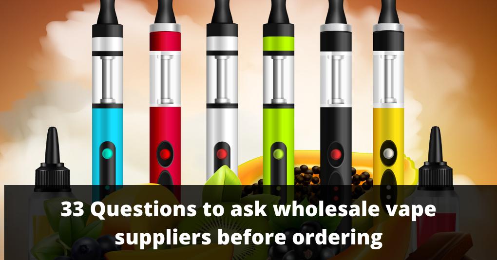 wholesale vape suppliers
